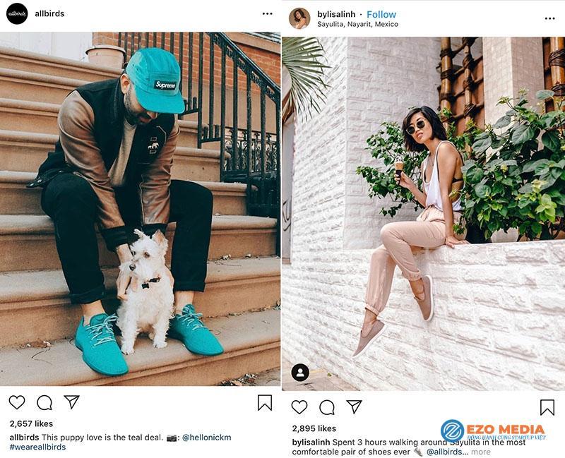 Có thể bạn chưa biết các thương hiệu lifestyle online nhìn giống nhau? 2
