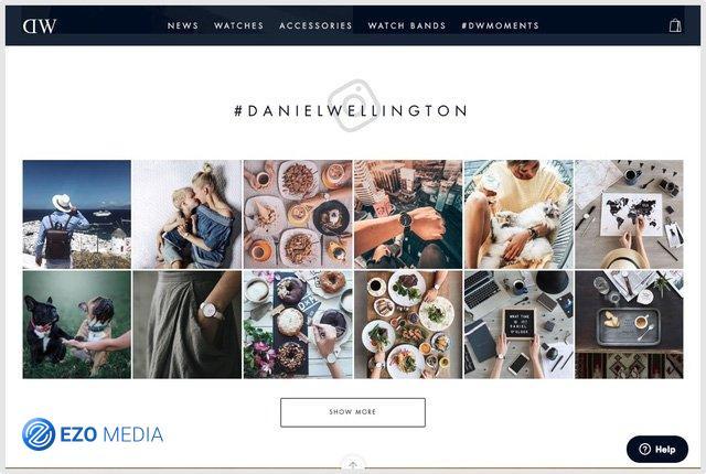 Chiến lược marketing dùng sức mạnh Influencer của đồng hồ Daniel Wellington