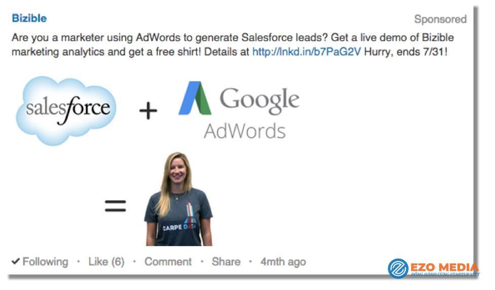 Tuyệt chiêu chạy quảng cáo trên LinkedIn đạt hiệu quả 2